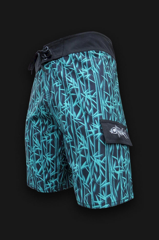 Reef Break Board Shorts - Bamboo - Tormenter Ocean Fishing Gear Apparel Boating SPF Surfing Watersports