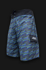 Reef Break Board Shorts -  Waves - Tormenter Ocean Fishing Gear Apparel Boating SPF Surfing Watersports