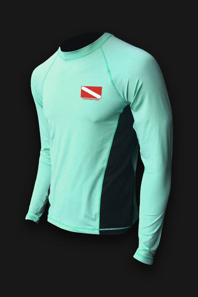 SALE - Dive Flag Seafoam DISCONTINUED - Tormenter Ocean Fishing Gear Apparel Boating SPF Surfing Watersports