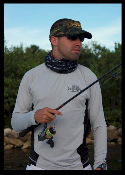 SALE _ Sailfish Gray - Tormenter Ocean Fishing Gear Apparel Boating SPF Surfing Watersports