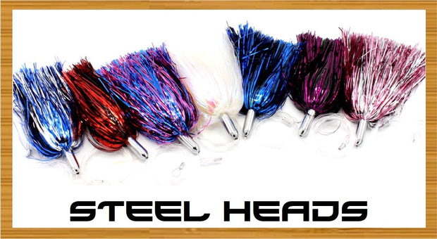 Tormenter Steel Head chrome headed trolling lure