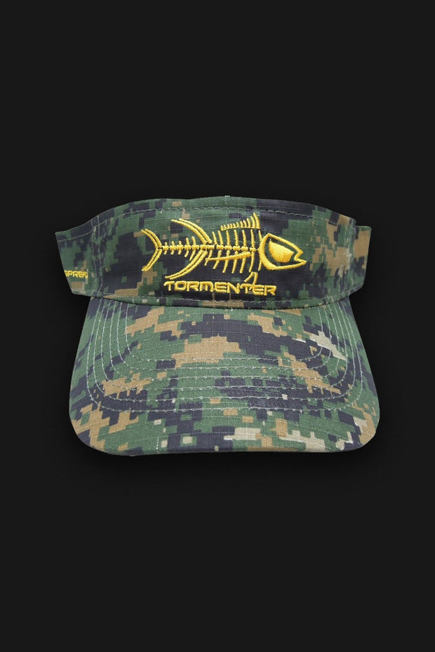 VISOR - Forest Camo - Tormenter Ocean Fishing Gear Apparel Boating SPF Surfing Watersports