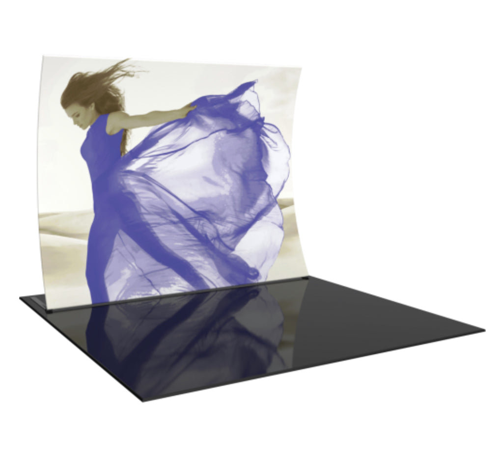 Formulate® Vertical Curve 10ft Fabric Display
