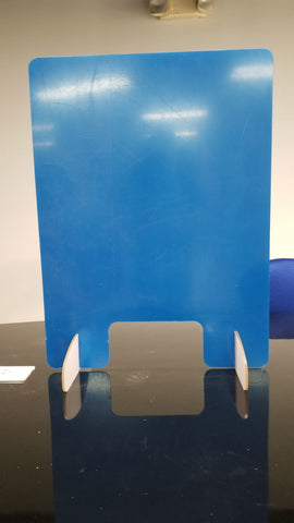 "MADE IN USA - Portable Sneeze Guard Barrier (24""w x 32""h)"