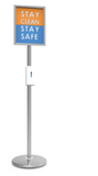 Trappa Post  Sanitizing Station Stand