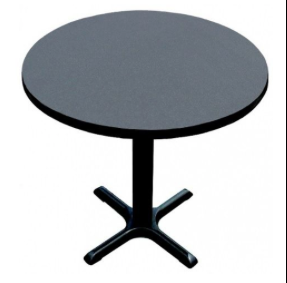 "42"" Black table"