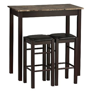 Linon 3-Piece Tavern Set, Espresso