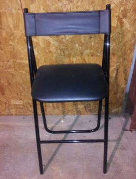 Black Bar Height Chair