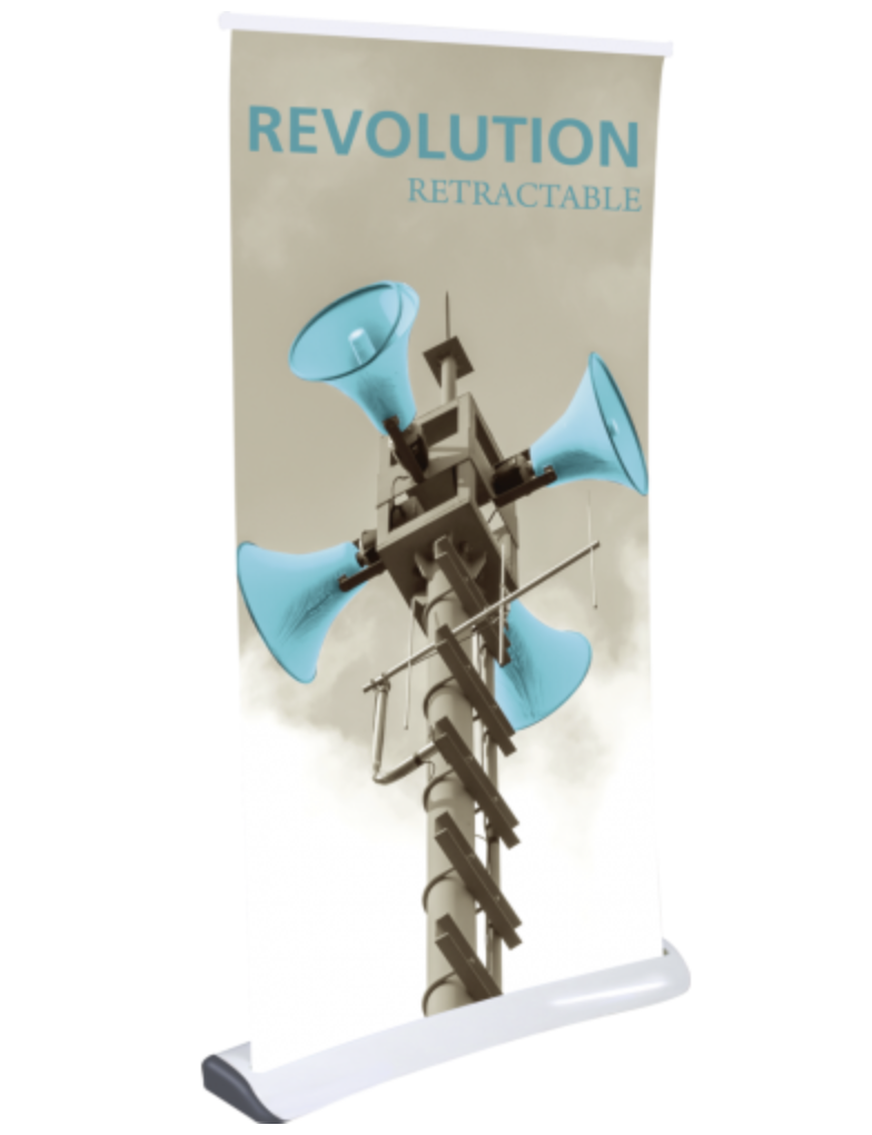 Orevolution Retractable Banner Stand