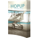 Hopup 5.5ft Curved Full Height Tension Fabric Display