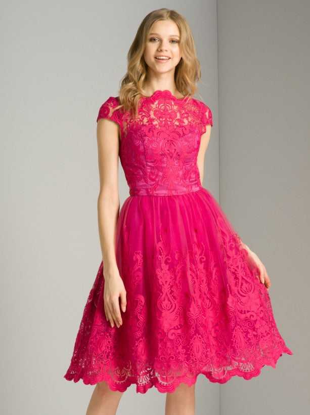 Suki Dress in Fuchsia