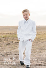 Truman Suit in White