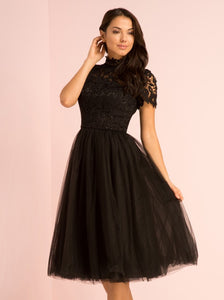 Bronte Dress in Black