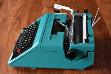 Load image into Gallery viewer, Olivetti STUDIO 45 Manual Typewriter - 100% Functional - Comes with Fresh Ribbon, Original Case, Manual, and Brush Kit - Working Typewriter