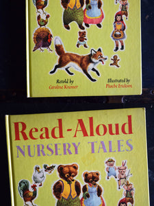 Read-Aloud Nursery Tales - Random House, New York - Vintage Children's Book - 1957 - Printed in the USA