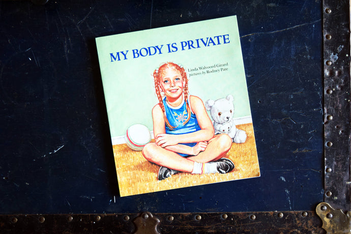 My Body is Private Book - Softcover - Learning Book for Children - Printed in the USA - 1984
