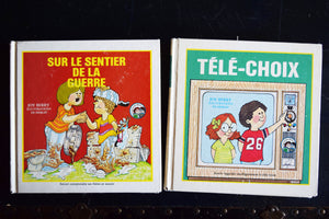 Joy Wilt Berry Learning Books - Set of 8 Hardcovers - French Language - Livre-Loisirs Ltee - VINTAGE LITERATURE - Printed in Canada - 1980s