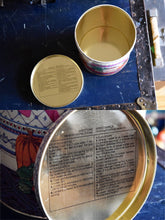 Load image into Gallery viewer, Uncle Bens Rice Tin - 1989 - Effem Foods Ltd. -  English and French - UNCLE BEN RICE - Bolton, Ontario, Canada - Vintage 1.5kg Capacity Tub - Lot 1