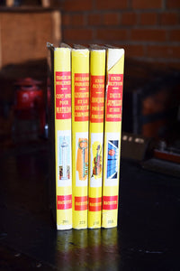1966 Hachette Children's Books - Set of 4 Hardcovers - Various Authors - French Language - Printed in France