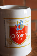 Load image into Gallery viewer, O'Keefe Ceramic Beer Mug - Vintage Breweriana - Premium Quality Ale - Made in Korea