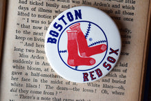 Load image into Gallery viewer, Boston Red Sox MLB Button Top Lapel Pin - Vintage Badge - Major League Baseball Memorabilia - Lot 1