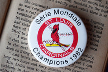 Load image into Gallery viewer, St. Louis Cardinals MLB Button Top Lapel Pin - Vintage Badge - Major League Baseball Memorabilia