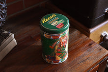 Load image into Gallery viewer, Reese Peanut Butter Cup Chocolate Tin - REESES CHOCOLATES - Buttercups - Christmas Edition - Candy Box - 1990 - Made in the USA