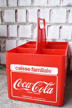 Load image into Gallery viewer, Coca-Cola Case - 1970s - Red Plastic - COKE CRATE - Advertising Collectible - Montreal, Quebec, Canada - Lot 3