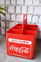 Load image into Gallery viewer, Coca-Cola Case - 1970s - Red Plastic - COKE CRATE - Advertising Collectible - Montreal, Quebec, Canada - Lot 2