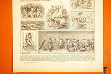 Load image into Gallery viewer, Antique High Relief Fine Art Print - 1920s Larousse - French Lithographs - Printed in Paris, France - 100% Original - Antiques and Artpieces