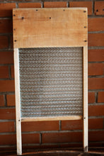 Load image into Gallery viewer, Economy Washboard - Wooden with Glass Grate - Manufactured in Canada - Canadian Woodenware Company