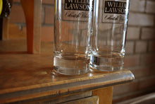 Load image into Gallery viewer, William Lawsons Scotch Whisky Glasses - Set of 2 - Vintage Alcohol Collectibles - WILLIAM LAWSON'S - Drinking Glasses - Lot 2