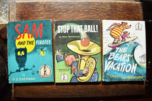 Set of 11 Beginner Books Book Collection - Vintage Hardcover Books - Dr. Seuss & Other Authors - Printed in the USA - 1960s