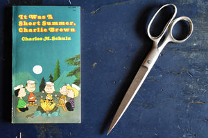 It Was A Short Summer Charlie Brown IN COLOR Comic Book - Charles M. Schulz - 1971 - 1st Printing - Printed in USA