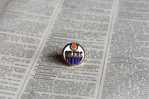 Edmonton Oilers Lapel Pin - 1990s - National Hockey League Sports Memorabilia - Vintage NHL Pins - Lot 3