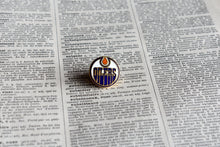 Load image into Gallery viewer, Edmonton Oilers Lapel Pin - 1990s - National Hockey League Sports Memorabilia - Vintage NHL Pins - Lot 3