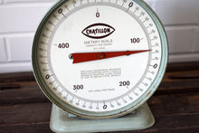 Load image into Gallery viewer, Vintage Green Scale - Chatillon Dietary Scale - Retro Kitchen Decor - Made in New York, USA - 1960s