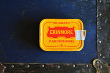 Load image into Gallery viewer, Murrays Erinmore Mixture Tobacco Tin - MURRAY'S ERINMORE MIX - Vintage Advertising Container - Belfast, Northern Ireland - Lot 2