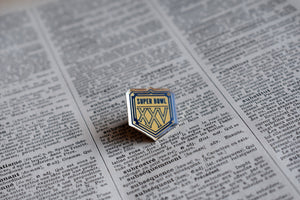 Superbowl XXV 1991 NFL Championship Lapel Pin - Vintage - National Football League Memorabilia