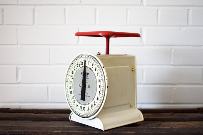Hanson Model 2000 Utility Scale - Made in Chicago, USA - 25lb Capacity - HANSON SCALES - 1950s