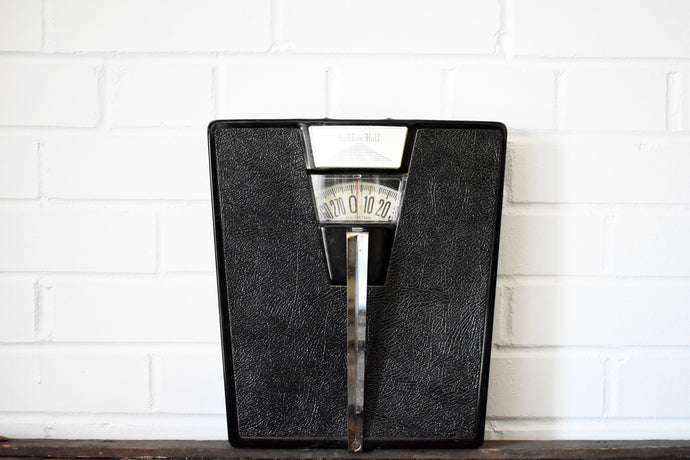 Haddon Hall Bathroom Scale - 270lbs Capacity - Mid Century Weight Scales - 100% Functional - Made in the USA