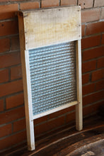 Load image into Gallery viewer, Economy Washboard - Wooden with Glass Grate - Manufactured in Canada - Canadian Woodenware Co.