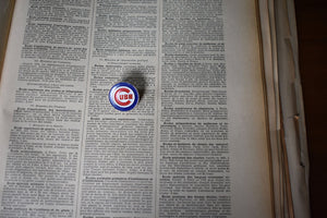 Chicago Cubs MLB Lapel Pin - Vintage - Major League Baseball Sports Memorabilia - MLB Pins