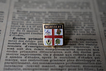 Load image into Gallery viewer, City of Montreal Crest Lapel Pin - Vintage - Montréal, Québec - Canadian Cities - Lot 1