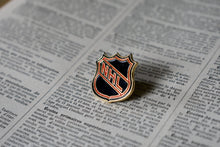 Load image into Gallery viewer, NHL National Hockey League Logo Lapel Pin - 1990s - National Hockey League Sports Memorabilia - Vintage NHL Pins - Lot 2