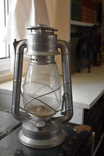 Load image into Gallery viewer, Silver Meva Lantern - Meva No. 865 - Made in Czechoslovakia - Paraffin Oil Lamp