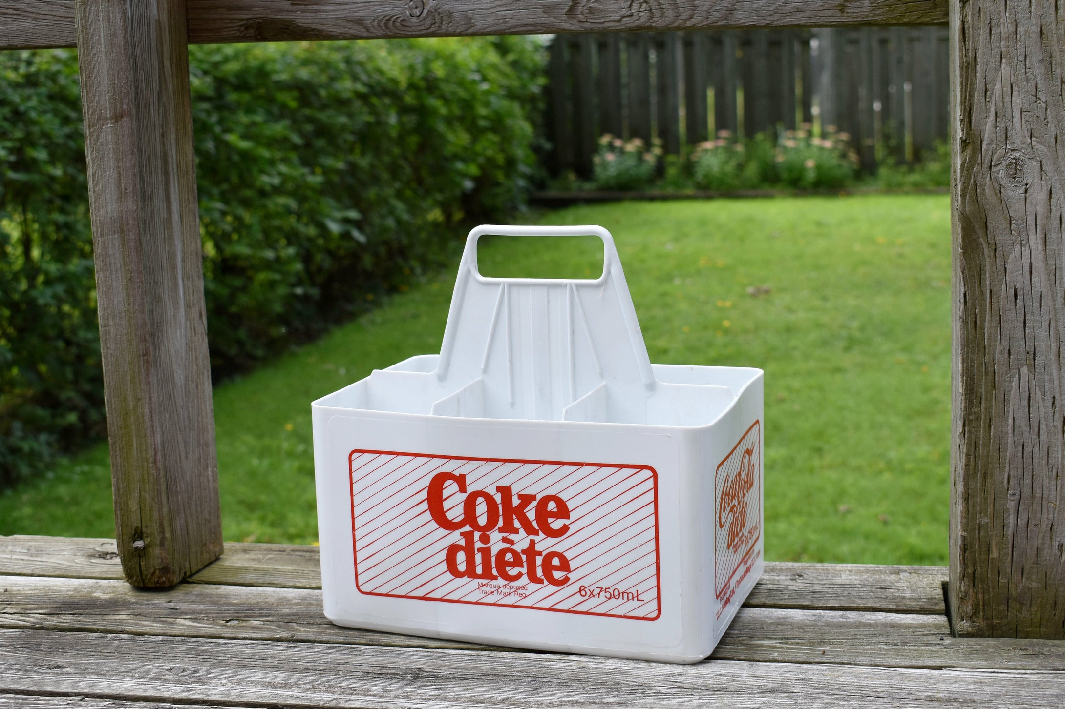 Diet Coke Plastic Crate - Soda Pop Bottle Case - Retro Soft Drinks - CocaCola - Coke Bottle Box - Lot 1