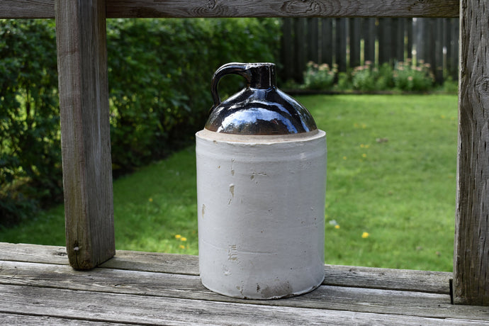 Imperial Whisky Crock - Whiskey Jug - Vintage Crock - Antique Crocks - Vintage Farm Jar - Country Rustic Home Decor - Canada