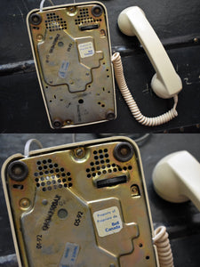 Cream Telephone - Working! - Made in Canada