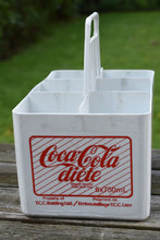Load image into Gallery viewer, Diet Coke Plastic Crate - Soda Pop Bottle Case - Retro Soft Drinks - CocaCola - Coke Bottle Box - Lot 1
